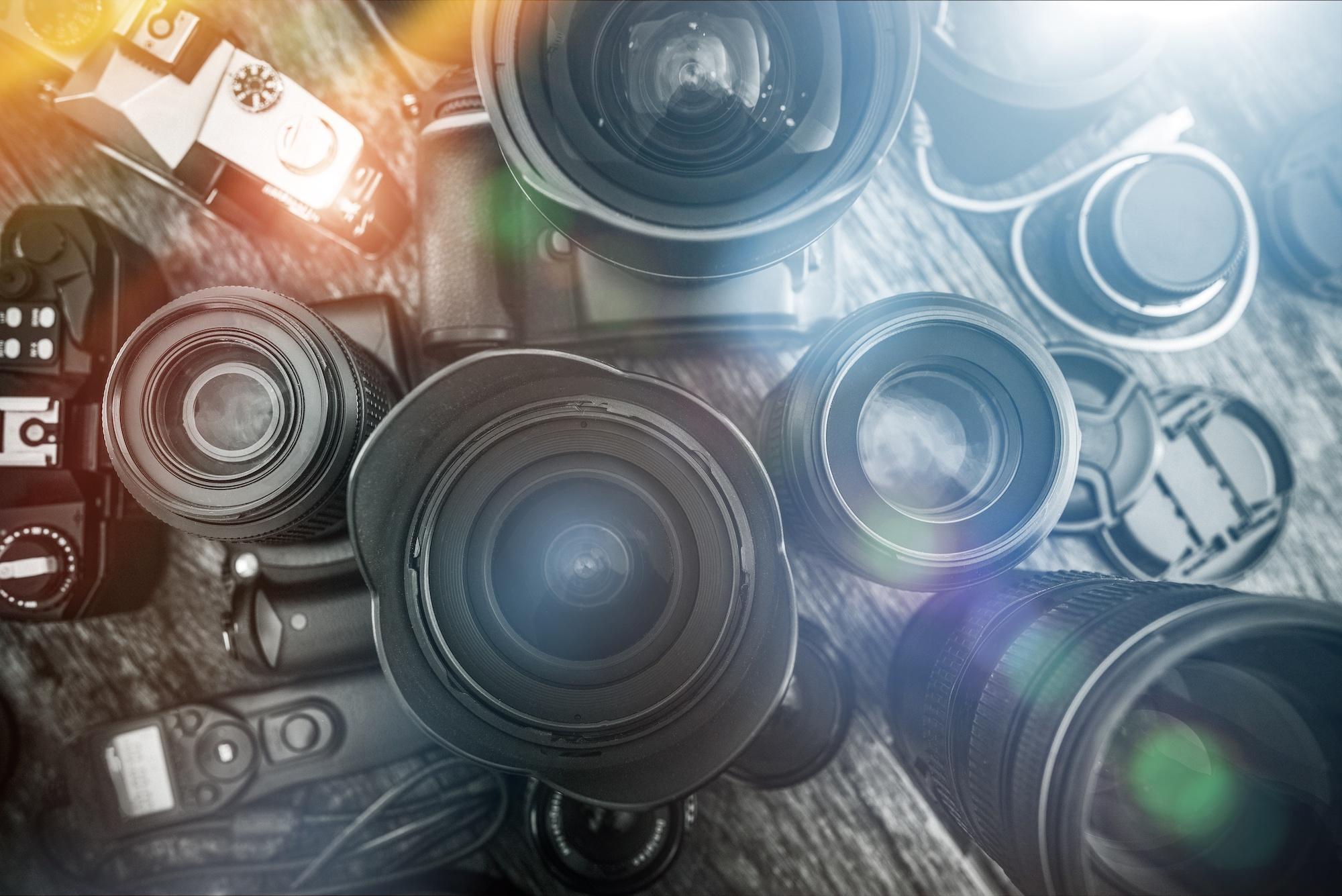 Kameras und Objektive